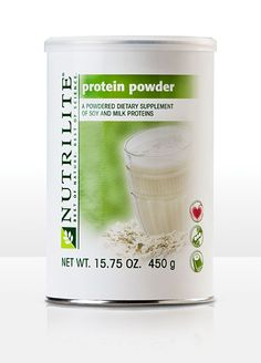 Leaner than meat, good for your heart.  Protein plays a crucial role in your body's growth and maintenance, but protein sources with a lot of fat and cholesterol do your health more harm than good. NUTRILITE Protein Powder provides a natural, low-fat protein with the added benefits of naturally occurring soy isoflavones, calcium, and iron.  www.amway.com/AlishaStailey