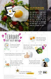 Put an egg on it for Heart Health Month