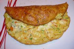 Gemüse Omelette - Rezept