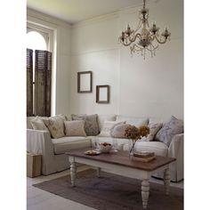 Shabby Chic living room @ House of Fraser