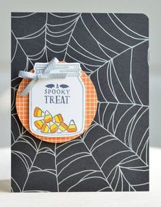"""Make-It Monday"": Jar of Haunts card created with NEW Stampin' Up! products"