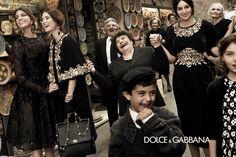 Resumen de las nuevas campañas otoño-invierno 2012/2013: Dolce & Gabanna