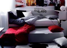 Cama nido Ikea: una solución muy práctica para ahorrar espacio en la habitación