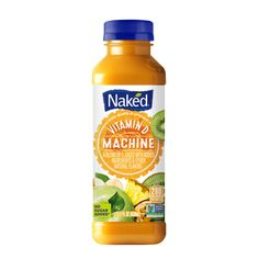 Naked Juice Vitamin D Machine - fl oz Soy Protein, Healthy Protein, Protein Foods, Juicing For Health, Vitamin D, Fruit Juice, Food Cravings, Natural Flavors, Naked