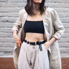 Chic menswear inspired outfit