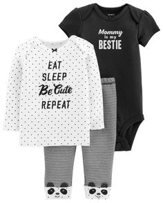 3-Piece Little Character Set. Carters Baby ClothesCarters Baby GirlMy ... 79360907bc0fd