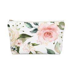 Floral Makeup Bag Mother Gifts, Travel Bag, Teacher Gifts, Bag Accessories, Makeup, Floral, Bags, Make Up, Handbags