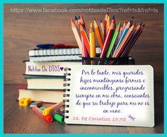 BENDICIONES DE DIOS DE LA PAGINA https://www.facebook.com/notitasdeDios?fref=ts