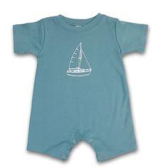 Sailboat Infant Romper