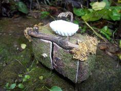 OOAK Fairy House Sink - Dollhouse Furniture | eBay