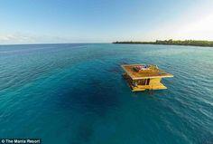The Underwater Manta Room, East Africa