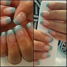 Bling franch nails