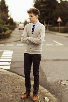 가을 패션 :: 남자 가디건 스타일&패션코디법! : 네이버 블로그