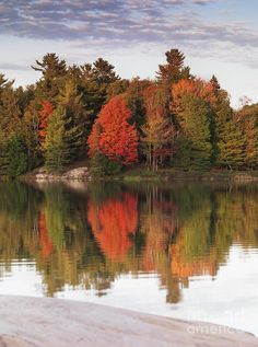 ✮ George lake, Killarney Provincial Park, Ontario, Canada Peaceful Places, Beautiful Places, Beautiful Pictures, Autumn Nature, Autumn Art, Camping Images, Ontario Parks, Canada, Canoe Trip