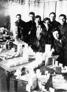 Students of Vkhutemas School. Space Architecture, Dieselpunk, Modernism, Bauhaus, Russia, Students, Portraits, School, Design