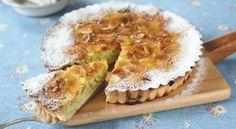 CABBAGE ALMOND TART キャベツのアーモンドタルト(mochiko, milk, cream, sliced almond…