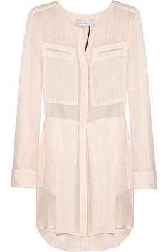 A.L.C. Ingerson silk-crepe dress