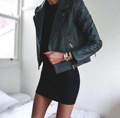 "thestylexplorer: ""Leather jacket >> """