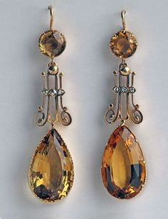 EDWARDIAN Drop Earrings