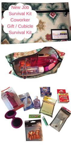 New Job Survival Kit | Cubicle Survival Kit | Coworker Gift | New Hire ...