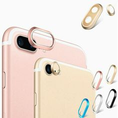 Colorful Metal iPhone 7 Camera Lens Protectors for iPhone 7