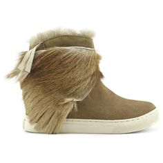 Love this by MOU SNEAKER WITH ANTELOPE FRINGE - $306