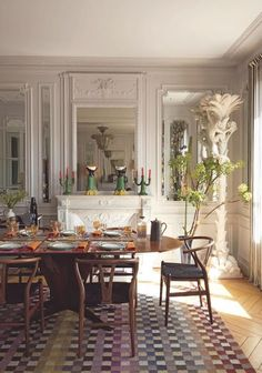Interiors Decor - The colorful apartment Rosita Missoni in Paris by Cool Chic Style Fashion