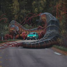 A dump of artwork by Simon Stålenhag, who recently painted the box art for No Man's Sky.