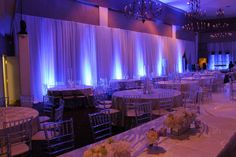 Love this look at this event reception. Diy Pipe And Drape, Pipe And Drape Backdrop, Blue Wedding, Diy Wedding, Dream Wedding, Wedding Ideas, Here Comes The Judge, Custom Drapes, Wedding Decorations