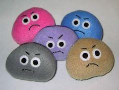 Pet Rock Ideas | Pet Rocks For Sale Grumpy pet rocks!