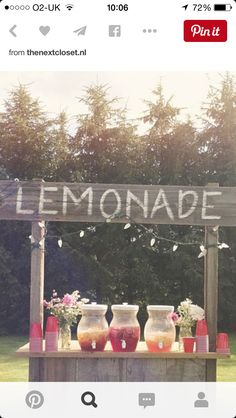 18 Unique & Creative Wedding Drink Bar Ideas for Outdoor Wedding wedding weddingbar weddingreception Cute Wedding Ideas, Wedding Tips, Wedding Planning, Dream Wedding, Summer Wedding Ideas, Summer Weddings, Trendy Wedding, Wedding Blog, Wedding Details