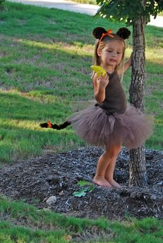 Sweet Monkey tutu costume with tutu tail by CamillesLilBoutique