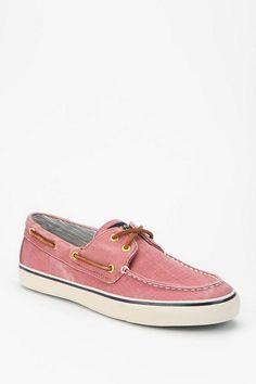 Sperry Salt-Washed Canvas Boat Shoe