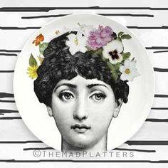 flower child III Cavalieri plate