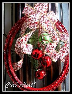 picture frame Christmas wreath - got the frame now I need to get it made!