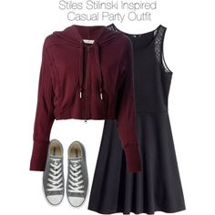 """Teen Wolf - Stiles Stilinski Inspired Casual Party Outfit"" by staystronng on Polyvore"
