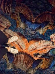 Gekleurd carpet Mooo