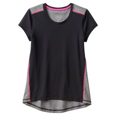 Girls 7-16 & Plus Size SO® Solid Performance Tee, Girl's, Size: