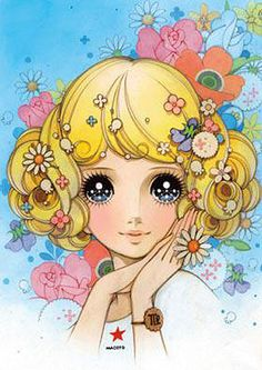 Flower ...[]... Themed Manga Art by Macoto Takahashi