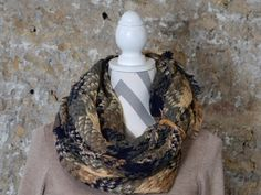 Heart Charm Scarf Kuhf - Back in Stock!