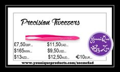 Get your hands on these precision tweezers—and easily get ahold of each tiny little hair that stands in your way.   . #tweezers #makeup #cosmetics #younique #youniquetweezers #canada #frenchcanadian #canadian #eyebrowtweezers #pluckingeyebrows #youniquecanada #youniqueproducts #uk #usa #australia #mexico #germany #newzealand #maquillaje #belleza
