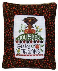 Pine Mountain Designs - Rectangle Pillow - November Give Thanks – Stoney Creek Online Store