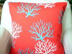 OUTDOOR Nautical Decorative Throw Pillows by fabricjunkie1640, $14.00