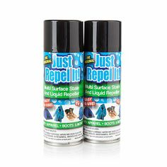 Just Repel It! Stain and Liquid Repeller - 2-pack