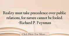 Richard P. Feynman Quotes About Nature - 51855