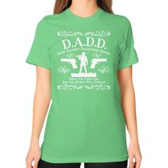 Fashions dadd Unisex T-Shirt (on woman)