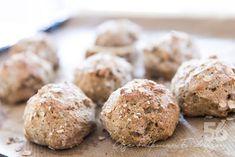 Havrefrallor utan (vete)mjöl - 56kilo.se -Lågkolhydrat recept, livsstil & inspiration Lchf, Low Carb Recipes, Muffin, Paleo, Tasty, Snacks, Cookies, Breakfast, Healthy