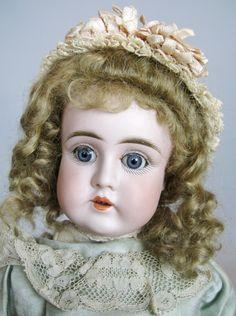 Early Kestner 13' Antique German Bisque Head Doll ~ All Antique