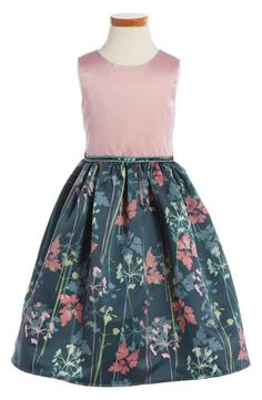 Dorissa 'Gloria' Floral Print Party Dress (Toddler Girls, Little Girls & Big Girls)
