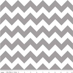 Medium Chevron Flannel Gray